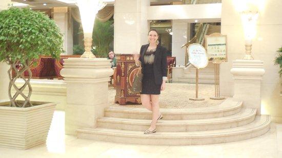 Salvo Hotel Shanghai : En el Lobby del hotel