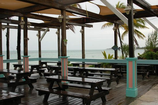 Banana Bay : nice outdoor patio