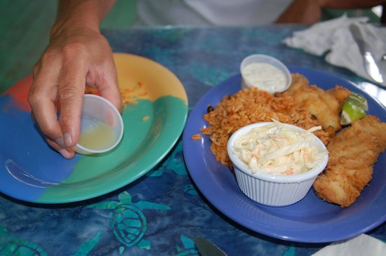 Banana Bay: lunch
