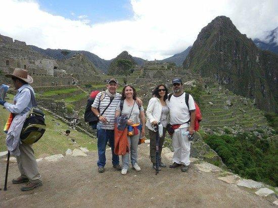 Santuario Histórico de Machu Picchu: con nuestros amigos