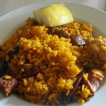 Moli d'es Raco: paella casera