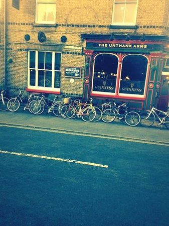 Unthank Arms Bar & Restaurant: very cycle friendly!