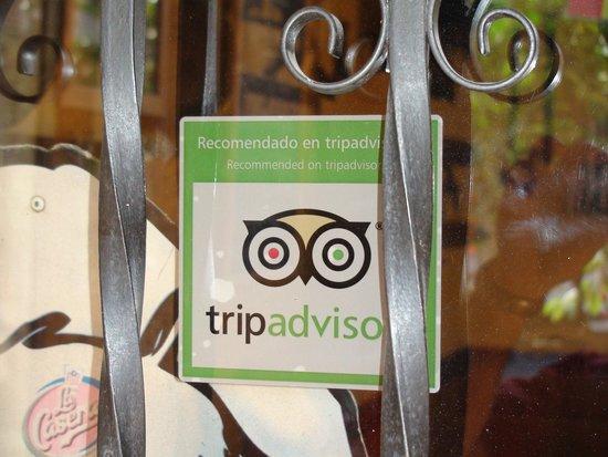 Candeleda, Spagna: Mesón recomendado por tripadvisor