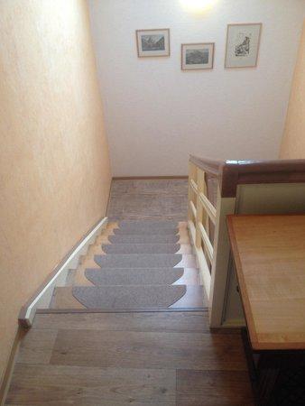 Haus Schwarzenberg: Stairs