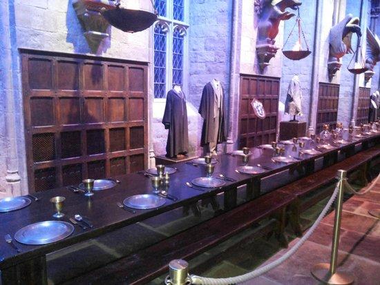 Warner Bros. Studio Tour London - The Making of Harry Potter: Salão comunal