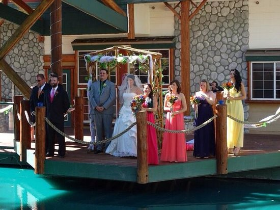 Northwoods Resort: Invoking the four direction during our ceremony