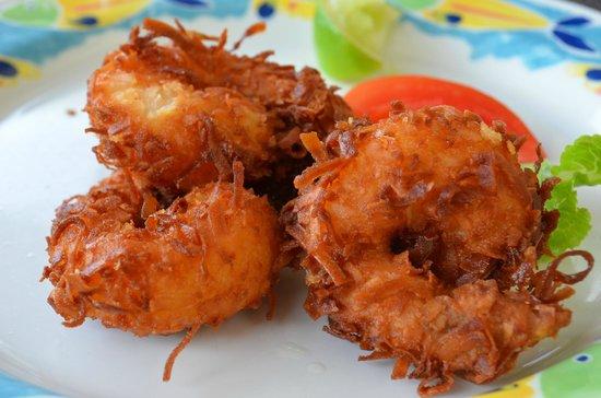 Sandals Royal Plantation: Shrimp coconut
