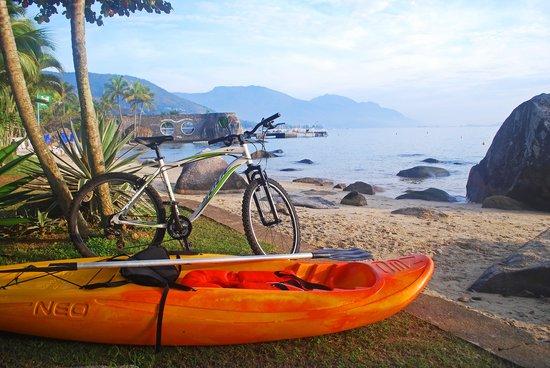 Porto Pacuiba Hotel: Bicicleta e caiaque para aluguel