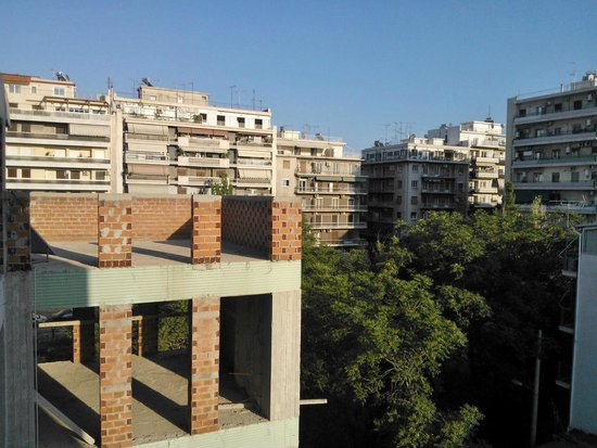 Faros II Hotel: view from window