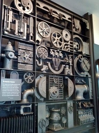Vulcan Park and Museum: A collage of iron works. Detailed and fascinating.