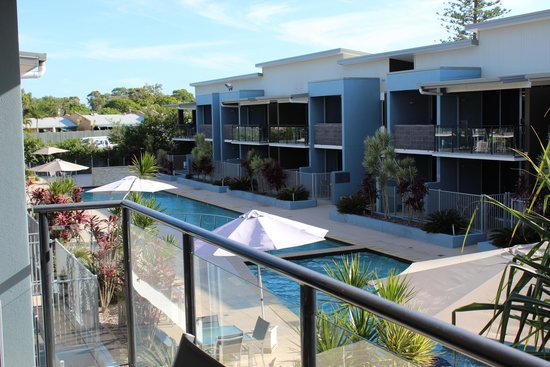 Ramada Hervey Bay: View from top corner apartment