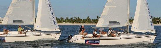 Offshore Sailing School Day Lesson: Sailing class with Offshore Sailing School in Pine Island Sound off Captiva Island, Florida