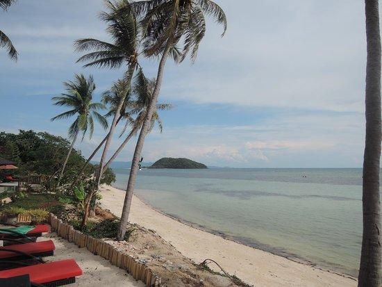 Kupu Kupu Phangan Beach Villas and Spa: beach