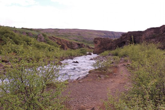 Stream running from Glymur