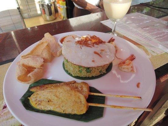 Kupu Kupu Phangan Beach Villas and Spa by l'Occitane: amazing food at the resort restaurant