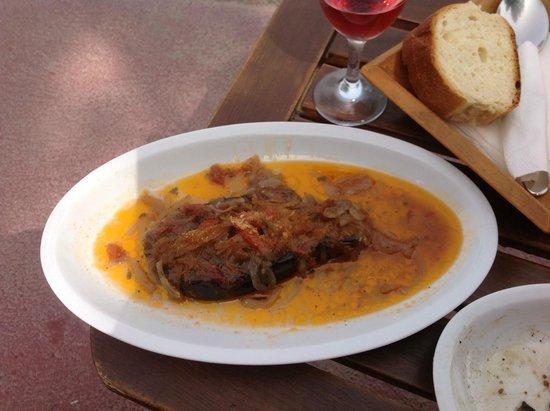 Yazz Beach Bar Restaurant : eggplant