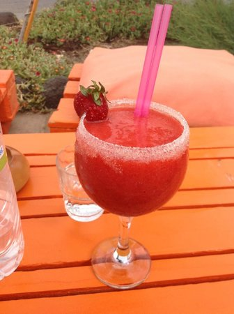 Yazz Beach Bar Restaurant : strawberry daiquiri