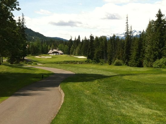 Fairmont Chateau Whistler Golf Club: Almost back!