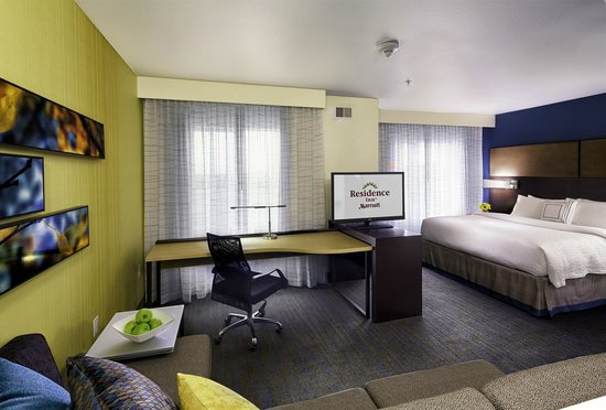 Residence Inn Pullman : King Studio with Sofa Bed