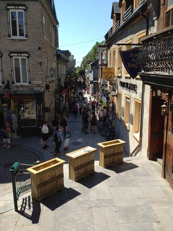 Lower Town (Basse-Ville): Lower Town Crowds