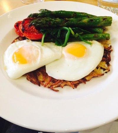 San Lorenzo's: Veggie Breakfast