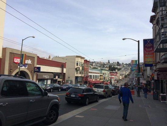 The Castro: Vista do bairro