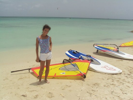 Aruba Active Vacations: First time windsurfing