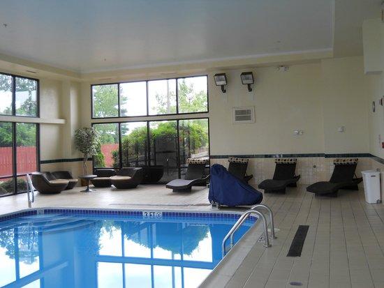 Hampton Inn Ashtabula : Indoor Swimming Pool