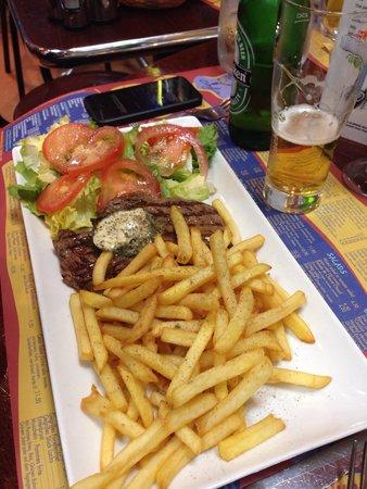 New Orleans Cafe : Noix d'Entrecôte et Frites