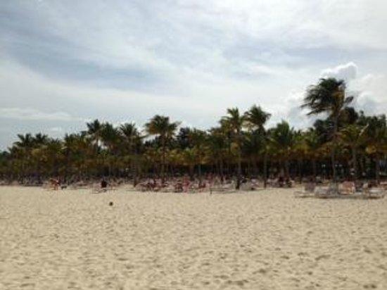 Hotel Riu Palace Mexico: Beach