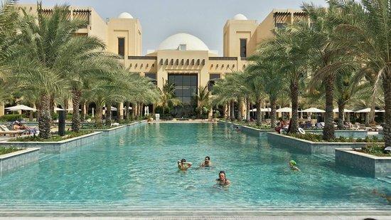 Hilton Ras Al Khaimah Resort & Spa : The Salt Water Pool... loved it!