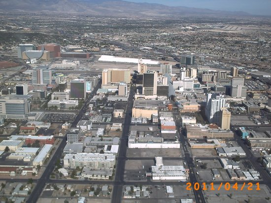 Grand Canyon Helicopters - Las Vegas : Las Vegas panorâmica !