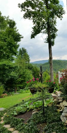 Sweetberries Bed and Breakfast: View from B&B of the Smoky Mountains
