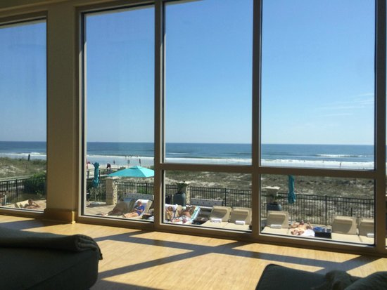 One Ocean Resort & Spa : View from the spa relazation area