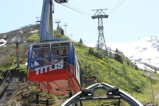 Mount Titlis: Middle Gondola at Mt. Titlis