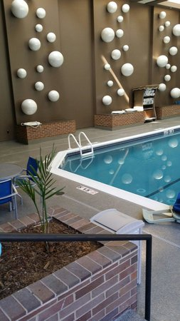 Hampton Inn Parsippany: Indoor pool