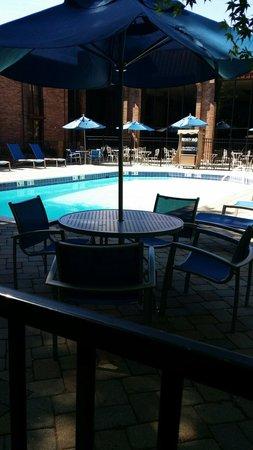 Hampton Inn Parsippany : Outdoor pool
