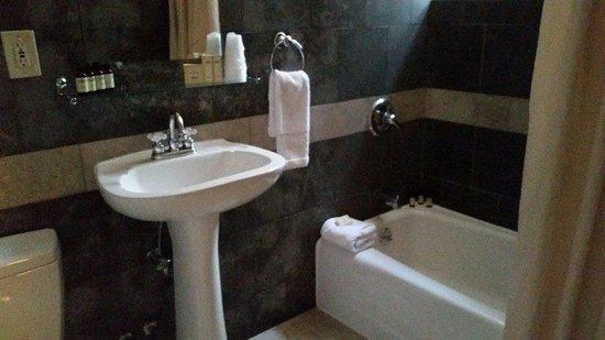 Hotel Belleclaire : bathroom