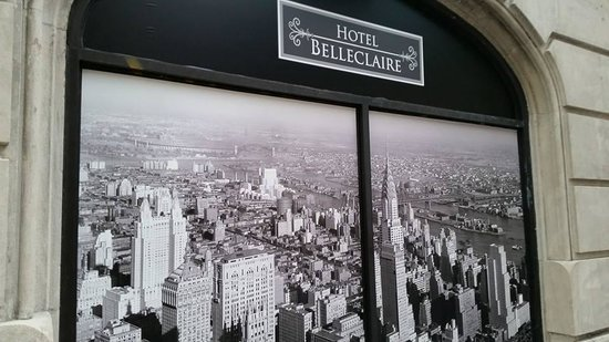 Hotel Belleclaire: old time and lovely entry photograph at hotel