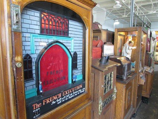Musee Mecanique : atracciones en madera desde comienzos del siglo XIX