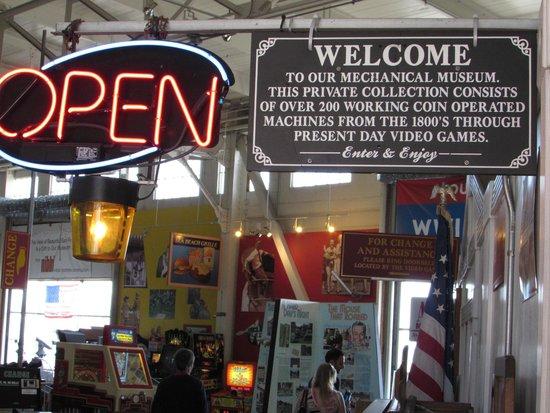 Musee Mecanique : entrada gratuita