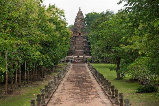 Phanom Rung Historical Park (Prasat Hin Phanom Rung): Entré du temple