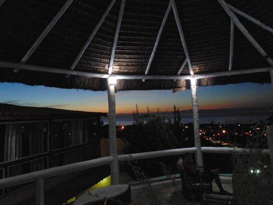 Bella Vista Ocean View : el atardecer desde el hotel