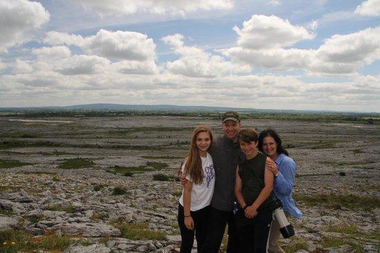 Heart of Burren Walks: Our family hiking in The Burren