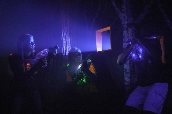 Laser tag in riverside