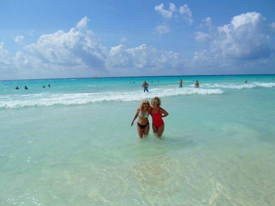 Sandos Playacar Beach Resort : el mar un oasis indescriptible