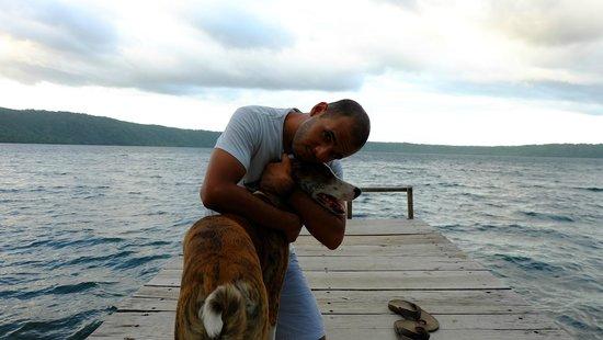 San Simian Eco Lodge: I love the property dogs