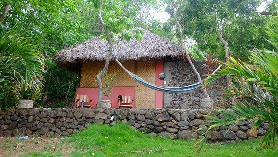 San Simian Eco Lodge: Sandia cabana - closest to the lake