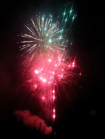 Loews Ventana Canyon Resort: Fireworks and all!