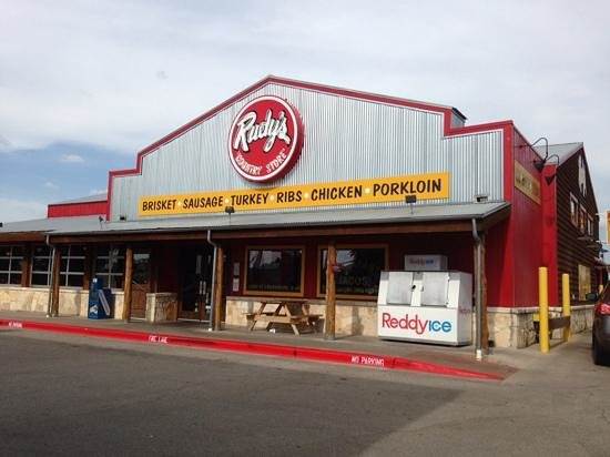Rudy's: The front view of Ruby's